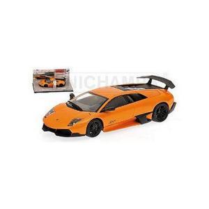 ランボルギーニ ムルシエラゴ LP670-4 SV 2009 オレンジ 「トップギア」 (1/43 ミニチャンプス519431031)|v-toys