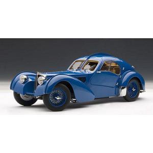 ブガッティ タイプ57SC アトランティック 1938 ブルー (1/18 オートアート70942)|v-toys