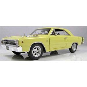 1968 ダッジ ダート サンファイヤーイエロー (1/43 ハイウェイ61 HW43007)|v-toys