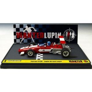 フェラーリ 312B ルパン三世 「WANTED」 スタート ルパン アクション フィギュア付 (1/43 ブルムL06)|v-toys