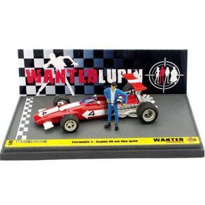 フェラーリ 312B ルパン三世 「WANTED」 スタートライン ルパン アクションフィギュア付 (1/43 ブルムL05)|v-toys