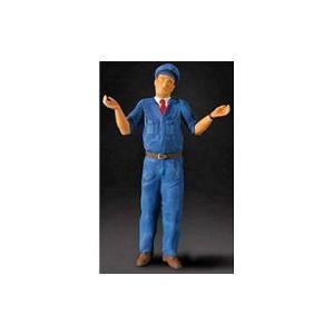 ガソリンスタンド店員 (1/18 フィギュアマニュファクチャFIG180006)|v-toys