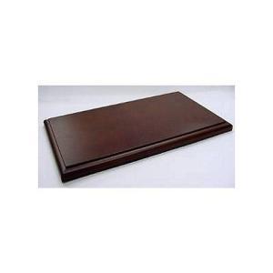 1/18用 ディスプレイ木製ベース ブラウン (1/18 コレクションケース 京商7295)|v-toys