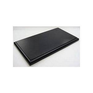 1/18用 ディスプレイ木製ベース ブラック (1/18 コレクションケース 京商7296)|v-toys