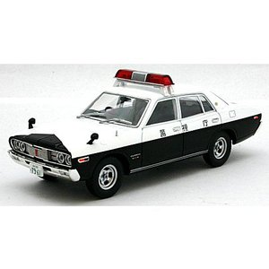 西部警察 01 ニッサン グロリア パトロールカー 白/黒 (1/43 トミーテック272137)|v-toys