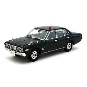 西部警察 02 ニッサン セドリック パトロールカー 黒 (1/43 トミーテック273325)|v-toys