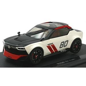 ニッサン IDx nismo ホワイト/ブラック (1/43 エブロ45038) v-toys