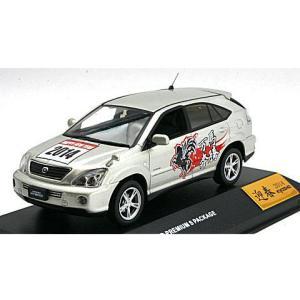 トヨタ ハリアー ハイブリッド プレミアム Sパッケージ 「ニューイヤー 2014 エディション」 シルバーM (1/43 JコレクションJC42003SLN14)|v-toys