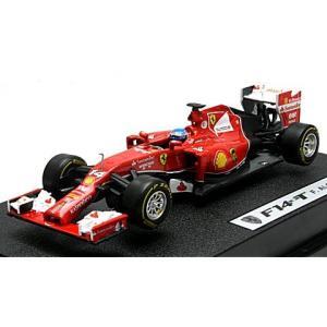 フェラーリ F-1 2014 F14 T No14 アロンソ ドライバー付 (1/43 マテルMTBLY69)|v-toys