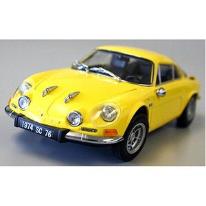 アルピーヌ ルノー A110 1600S イエロー (1/18 京商KS08484Y)|v-toys