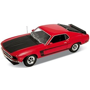 フォード マスタング 1969 レッド (1/18 ウエリーWE12516R)|v-toys