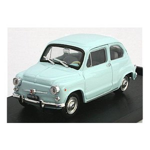 フィアット 600D ベルリナ 1965 ライトブルー (1/43 ブルムR349-03)|v-toys