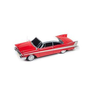 1958 Plymouth Fury 「Christine」 (クリスティーン劇中車) (1/43 アメリカンマッスルAWRSS1110)|v-toys