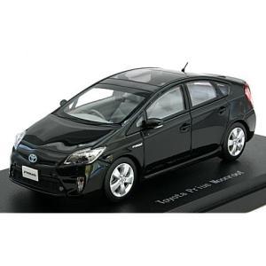 トヨタ プリウス ムーンルーフ ブラック (1/43 エブロ45148)|v-toys