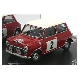 モーリス クーパー S No2 T.Makinen/P.Easter (Rallye MonteCarlo 1966) (1/43 ビテス43336) v-toys