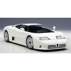 ブガッティ EB110 GT ホワイト (1/18 オートアート70978)|v-toys