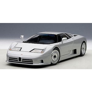 ブガッティ EB110 GT シルバー (1/18 オートアート70979)|v-toys