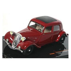シトロエン トラクシオン 7A 1934 ボルドー (1/43 イクソCLC265)|v-toys