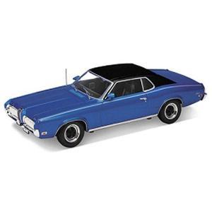 1970 フォード マーキュリー クーガー XR7 ブルー/ブラック (1/18 ウエリーWE12521BL) v-toys