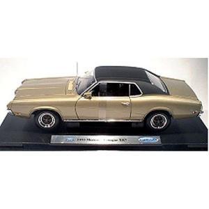1970 フォード マーキュリー クーガー XR7 ゴールド/ブラック (1/18 ウエリーWE12521GL) v-toys