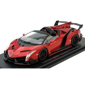 ランボルギーニ ヴェネーノ ロードスター レッドM/レッドライン (1/43 京商KS05572RM)|v-toys
