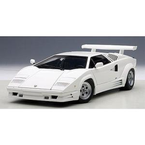 ランボルギーニ カウンタック 25th アニバーサリー ホワイト (1/18 オートアート74537)|v-toys