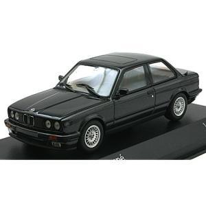 BMW 3シリーズ (E30) 1989 ブラックM (1/43 ミニチャンプス431024002)