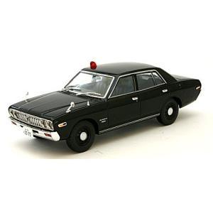 西部警察 03 ニッサン グロリア 覆面パトロールカー 黒 (1/43 トミーテック276913)|v-toys