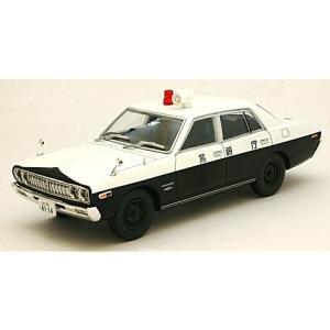 西部警察 04 ニッサン セドリック パトロールカー 白/黒  (1/43 トミーテック276920)|v-toys