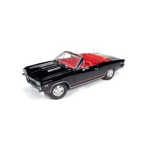 1967 シボレー コルベット SS コンバーチブル (Chevelle 50th Anni.) ブラック (1/18 オートワールドAMM1048)|v-toys