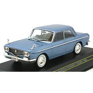 トヨタ トヨペット クラウン 1962 ブルー (1/43 ファースト43 F43-006) v-toys