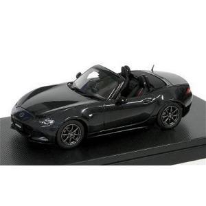 マツダ ロードスター 2015 ジェットブラックマイカ (1/43 ハイストーリーHS129BK)|v-toys