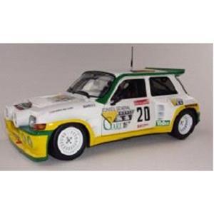 ルノー マキシ 5 (サンク) ターボ ガリゲスラリー ホワイト/イエロー (1/18 ソリドS1850001) v-toys