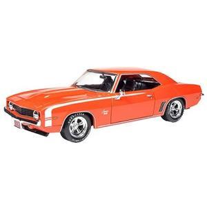 1969 シボレー カマロ ハガーオレンジ (1/24 アメリカンマッスルAW24004)|v-toys