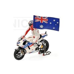 ドゥカティ DESMOSEDICI GP09 No27 C.コストナー モトGP オーストラリア 2009 フィギュア付 (1/12 ミニチャンプス122090127)|v-toys