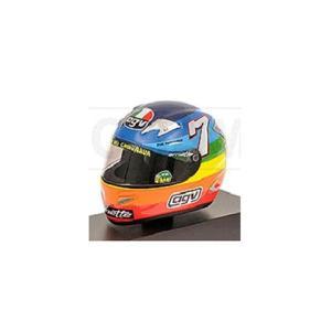 AGV ヘルメット V.ロッシ モトGP ウインターテスト 2003 (1/8 ミニチャンプス397030099)|v-toys