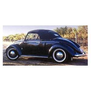 フォルクスワーゲン 1200 カブリオレ HEBMULLER 1949 ブラック (1/18 ミニチャンプス107054232) v-toys