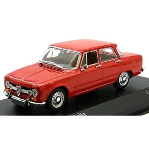 アルファロメオ ジュリア 1600 1970 レッド (1/43 ミニチャンプス400120907)|v-toys