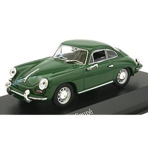 ポルシェ 356 C クーペ 1963 ダークグリーン (1/43 ミニチャンプス430062329) v-toys