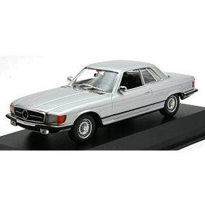 メルセデスベンツ 450 SLC (R107) 1974 シルバー (1/43 ミニチャンプス940033421)