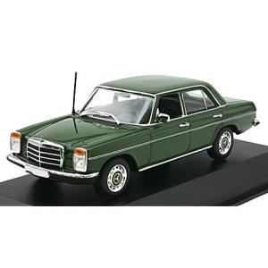 メルセデスベンツ 200D (W114/115) 1973 ダークグリーン (1/43 ミニチャンプス940034001)