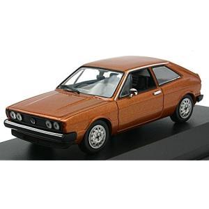 フォルクスワーゲン シロッコ 1974 ブラウンM (1/43 ミニチャンプス940050421)