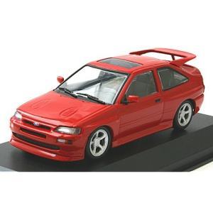 フォード エスコート コスワース 1992 レッド (1/43 ミニチャンプス940082100)|v-toys