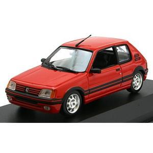 プジョー 205 GTI 1990 レッド (1/43 ミニチャンプス940112300)