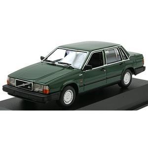 ボルボ 740 GL 1986 ダークグリーン (1/43 ミニチャンプス940171700)|v-toys