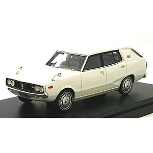ニッサン スカイライン 1800 ワゴン スポーティ GL 1972 ホワイト (1/43 ハイストーリーHS151WH)|v-toys