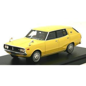 ニッサン スカイライン 1800 ワゴン スポーティ GL 1972 イエロー (1/43 ハイストーリーHS151YE)|v-toys