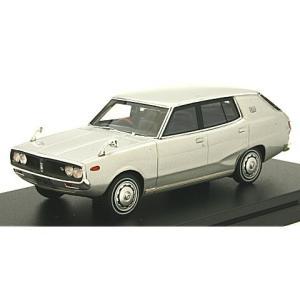 ニッサン スカイライン 1800 ワゴン スポーティ GL 1972 シルバー (1/43 ハイストーリーHS151SL)|v-toys