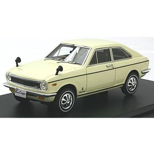 ニッサン サニー クーペ GL 1969 サンキストイエロー (1/43 ハイストーリーHS148YE)|v-toys