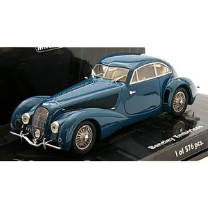 ベントレー EMBIRICOS 1938 ブルー (1/43 ミニチャンプス436139821)|v-toys